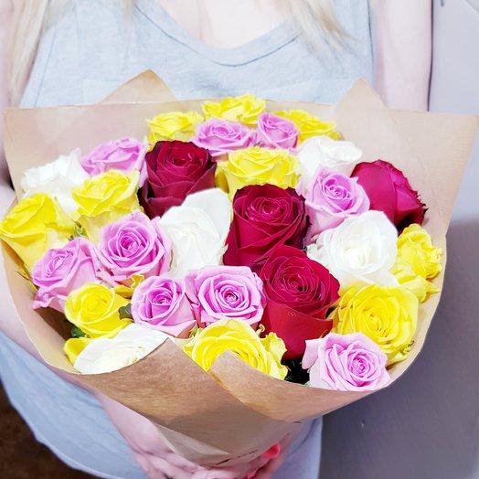 """Летний букет """"Ди"""": букеты цветов на заказ Flowwow"""