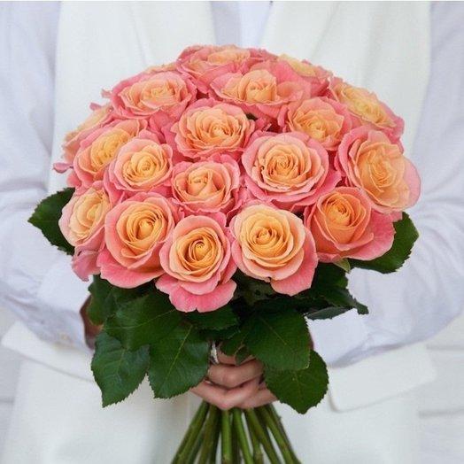 Букет 27 роз , мисс Пигги: букеты цветов на заказ Flowwow