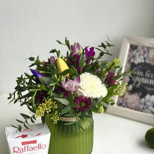 Сладкий привет!: букеты цветов на заказ Flowwow