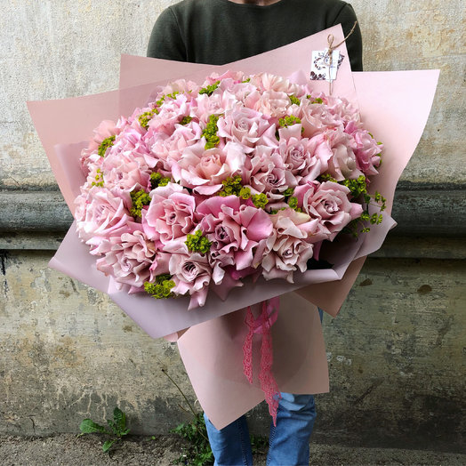 Пудровая нежность: букеты цветов на заказ Flowwow