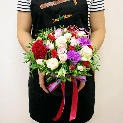 Коробочка Женева: букеты цветов на заказ Flowwow