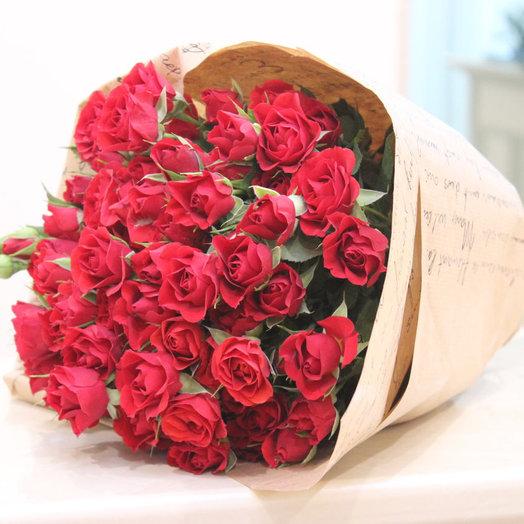 Букет Роза «Мирабелла»: букеты цветов на заказ Flowwow
