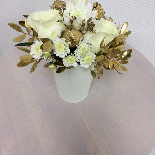 Цветочный коктейль золото: букеты цветов на заказ Flowwow