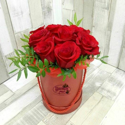 Роза в шляпной коробке