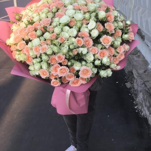 Нежный сапфир: букеты цветов на заказ Flowwow