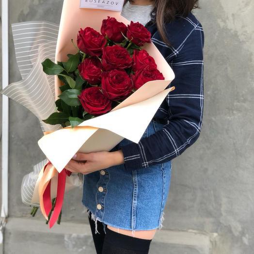 Прекрасные розы Майра Рэд: букеты цветов на заказ Flowwow