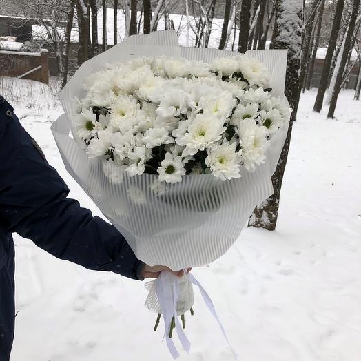 Белая роскошь: букеты цветов на заказ Flowwow
