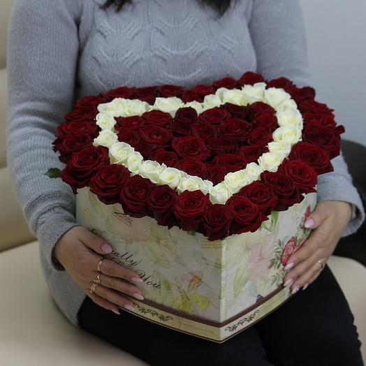 День Валентина: букеты цветов на заказ Flowwow