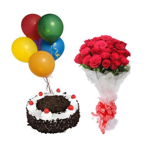 """Подарочный набор """"Праздничный"""": букеты цветов на заказ Flowwow"""