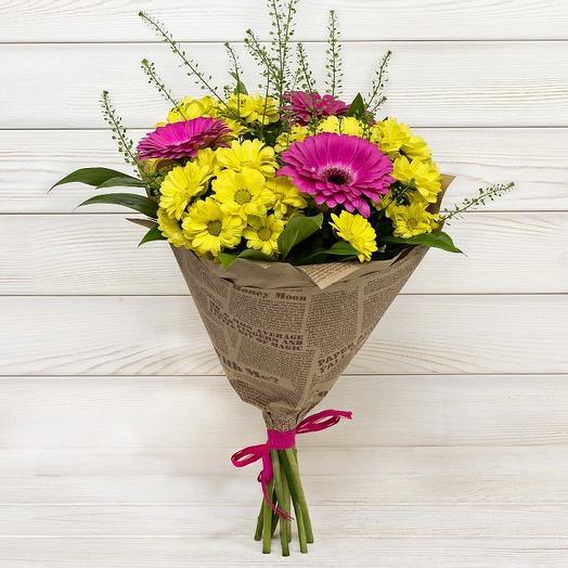 Яркий, стойкий букет: букеты цветов на заказ Flowwow