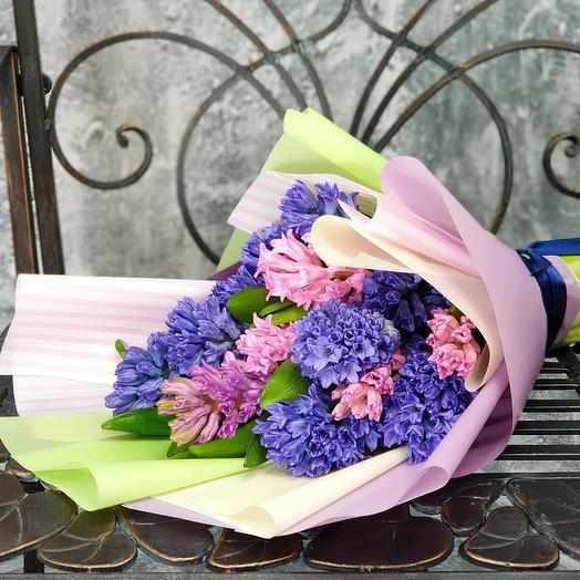 """Букет из гиацинтов """"Аромат Весны"""": букеты цветов на заказ Flowwow"""