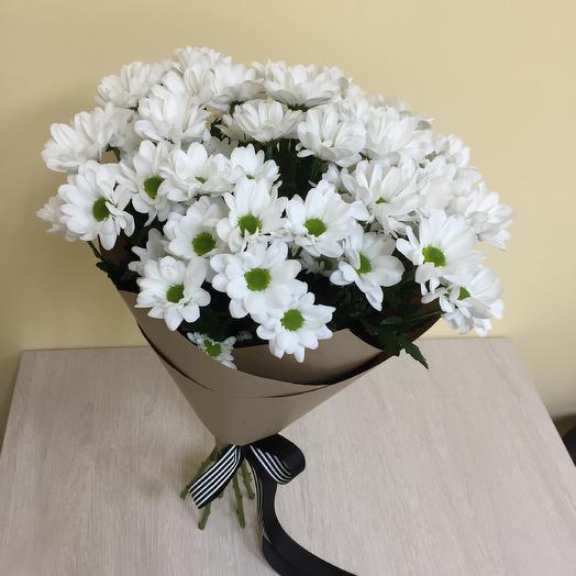 Букет кустовых ромашек: букеты цветов на заказ Flowwow