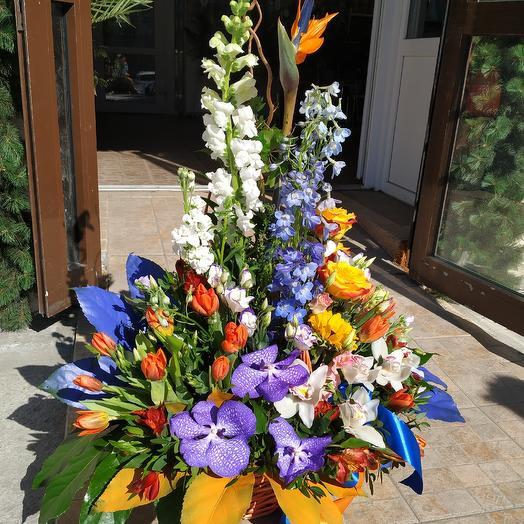 Жар-птица любви 🔥💘💕: букеты цветов на заказ Flowwow