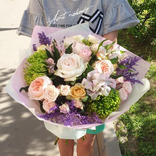 Розовые облака: букеты цветов на заказ Flowwow
