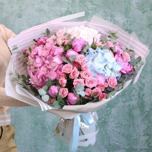 Летнее тепло: букеты цветов на заказ Flowwow