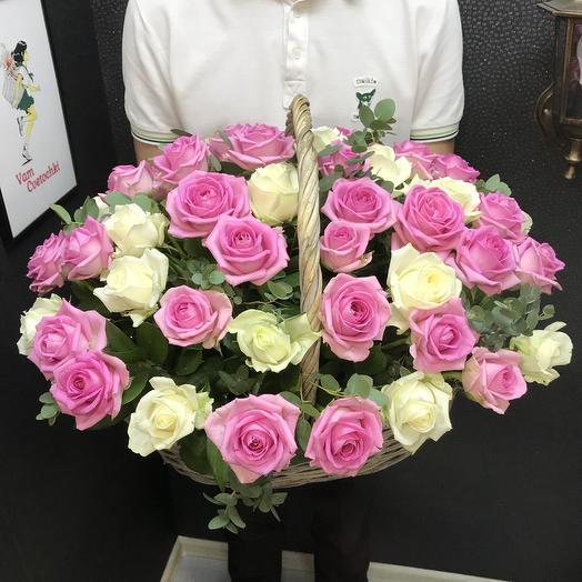 Ярко Нежная: букеты цветов на заказ Flowwow