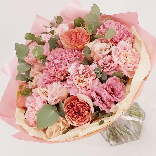 Оттенки нежности: букеты цветов на заказ Flowwow