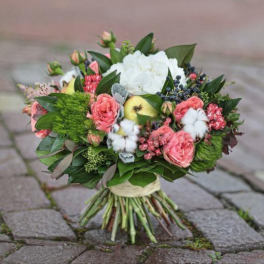 """Букет """"Яблоневый Сад"""": букеты цветов на заказ Flowwow"""