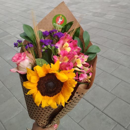 Солнце сентября: букеты цветов на заказ Flowwow