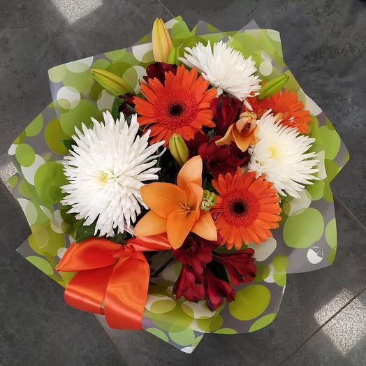 """Букет """"Летнее настроение"""": букеты цветов на заказ Flowwow"""