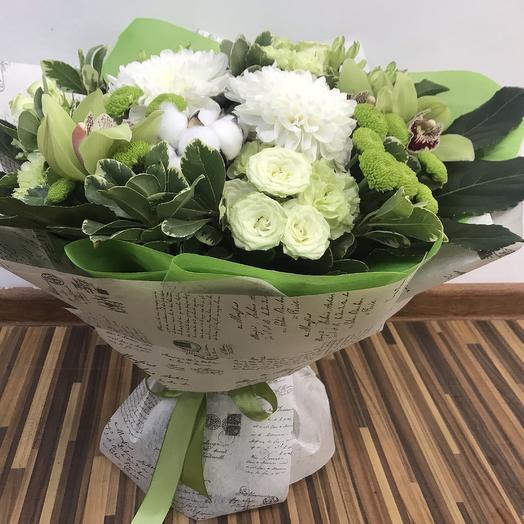 Хлопковый рай: букеты цветов на заказ Flowwow