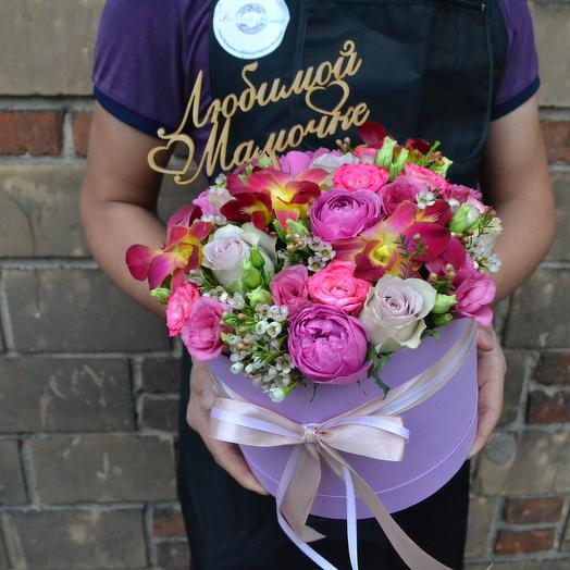 Для мамы (топпер мамочке в подарок): букеты цветов на заказ Flowwow