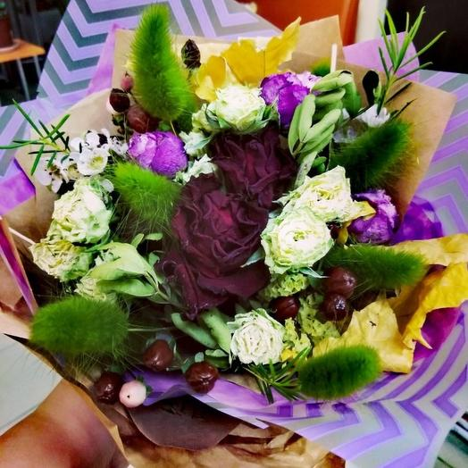 Букет-сухоцвет: букеты цветов на заказ Flowwow