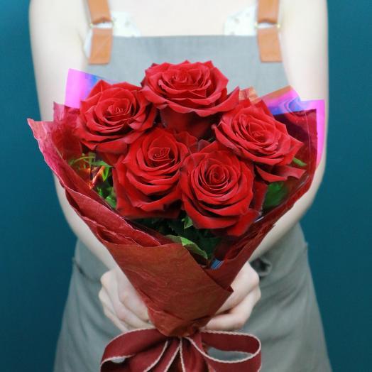 Рубиновые розы 5