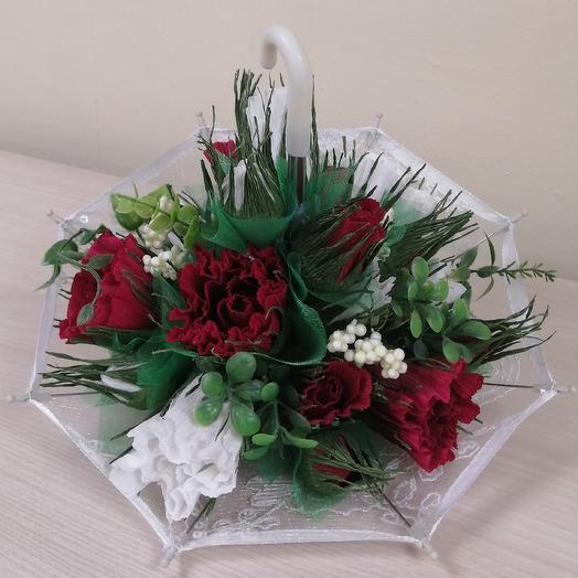 Зонтик: букеты цветов на заказ Flowwow