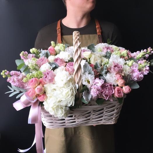 Корзина - Матильда: букеты цветов на заказ Flowwow