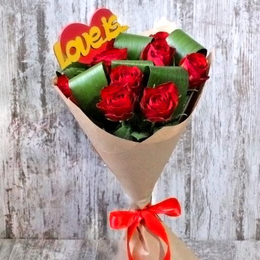 """Букет """"Лавизка"""": букеты цветов на заказ Flowwow"""