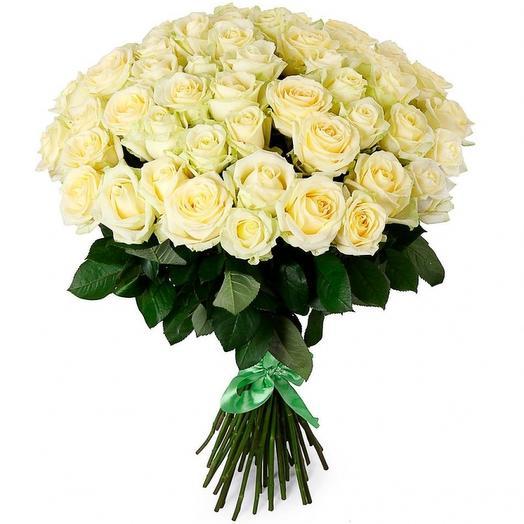 Роза эквадор 49 шт: букеты цветов на заказ Flowwow