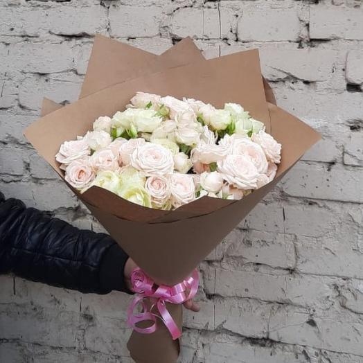 """Букет """"Ванильный зефир"""": букеты цветов на заказ Flowwow"""
