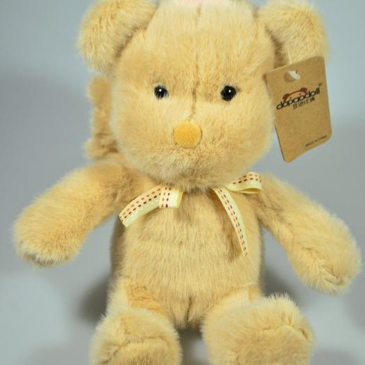 Мягкая игрушка медвежонок Маленький принц, 19 см, W107-1: букеты цветов на заказ Flowwow