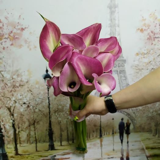 Каллы 9: букеты цветов на заказ Flowwow