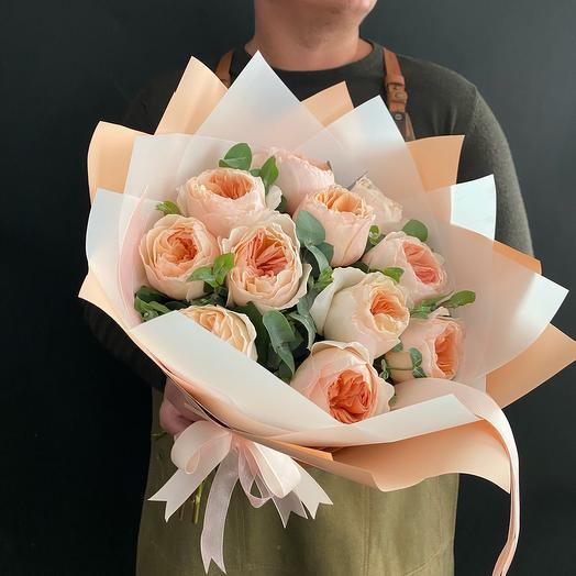 Пионовилные розы Джульетта