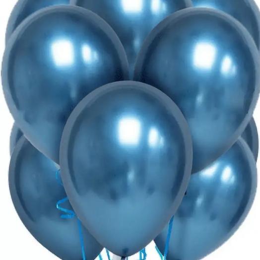 Воздушные,гелевые шары металлик