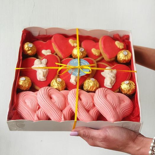 Большая сладкая коробка Моему Ангелу