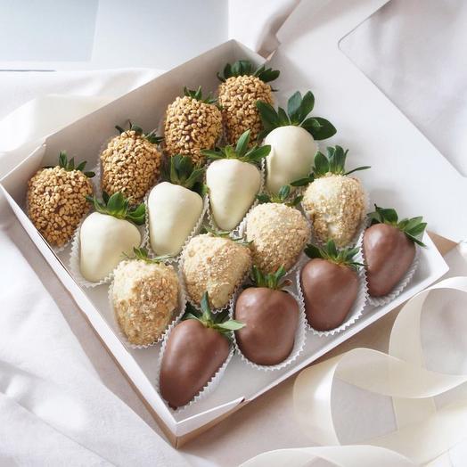 Набор клубника в Шоколаде Перфекто