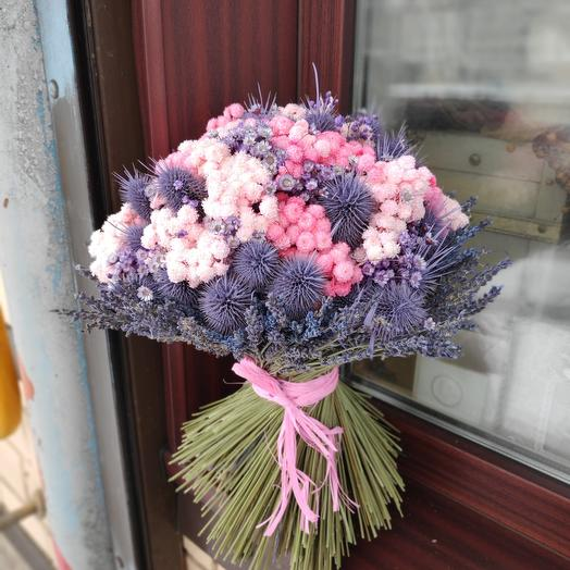 Букет Кассабланка /сухоцветы