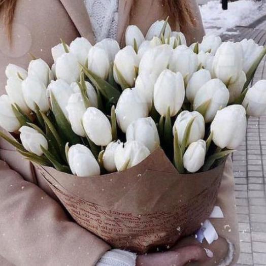 Букет Тюльпаны микс 35