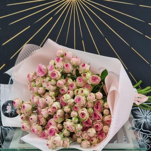 Пионовидная кустовая Роза Super Sensation