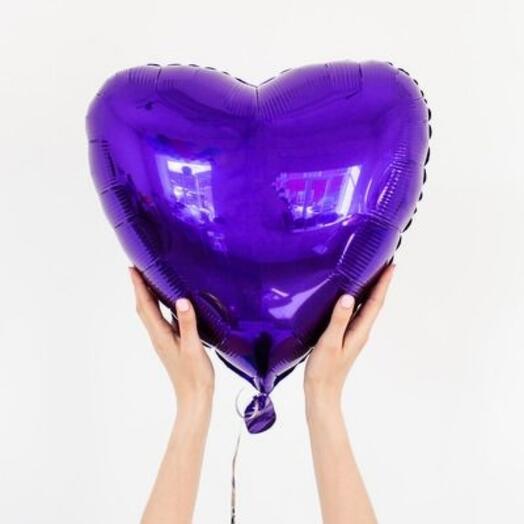 Шарик фальгированный сердце