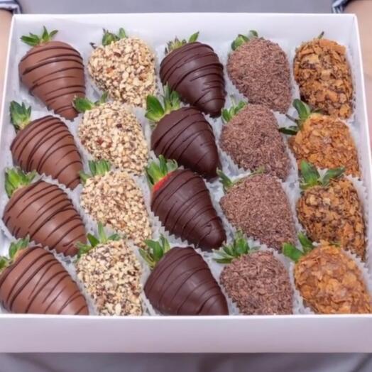 Клубника в шоколаде 20 шт