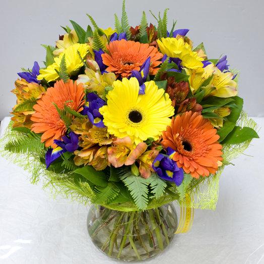 Букет цветов Самоцветы