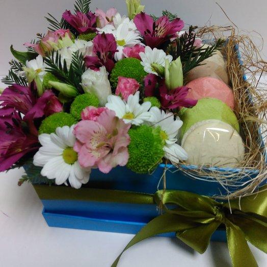 Радуга вкуса: букеты цветов на заказ Flowwow