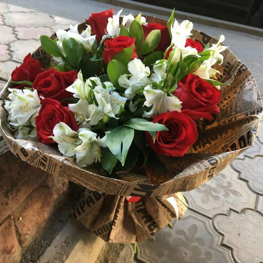 """Букет """"Рубенс"""": букеты цветов на заказ Flowwow"""