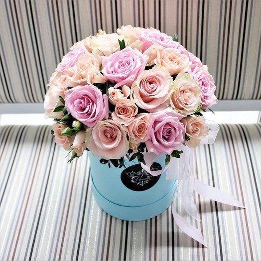 Нежное создание: букеты цветов на заказ Flowwow