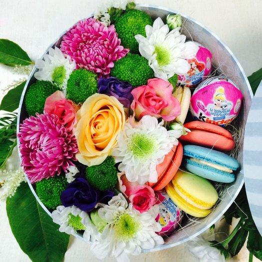 Юной принцессе: букеты цветов на заказ Flowwow