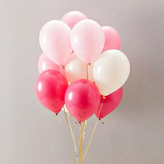 """Воздушные шары """"Микс нежности"""": букеты цветов на заказ Flowwow"""